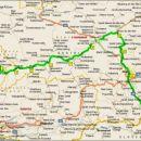 Kolesarska pot, ki vodi od Izvira reke Mure v Avstriji do Gornje Radgone in je dolga ~400