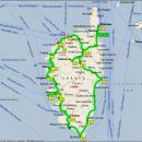 Korzika 2004 Prevoženih ~ 2800 km. Povratna karta
