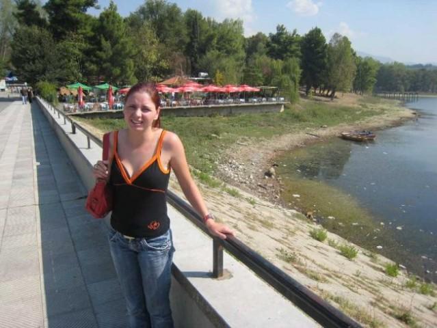 Jezero v Tirani. Gremo dol na počitnice?