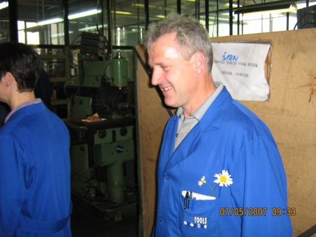 Janez Svetlin 50 let, ET Orodjarna Kamnik 07. - foto