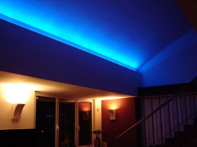 osvetlitve ob spuščenih stropovih