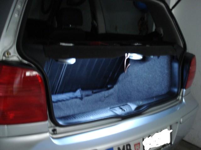 Osvetljen kuferam VW POLO