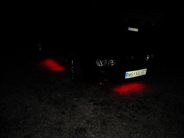 Osvetlitev podvozja pri Alfi Romeo