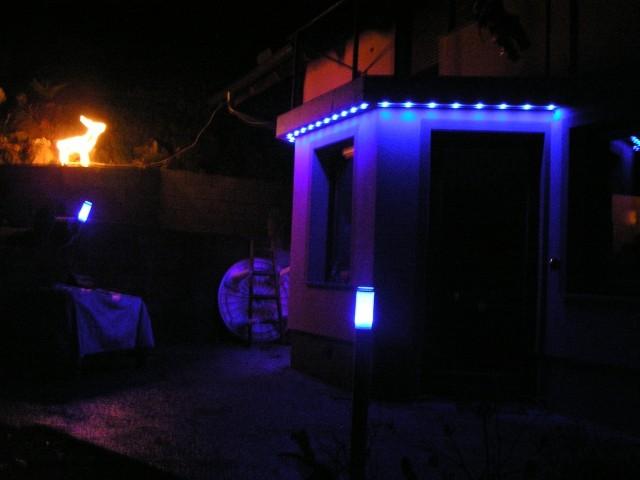 Osvetlitev hise v Ljubnem ob Savinji
