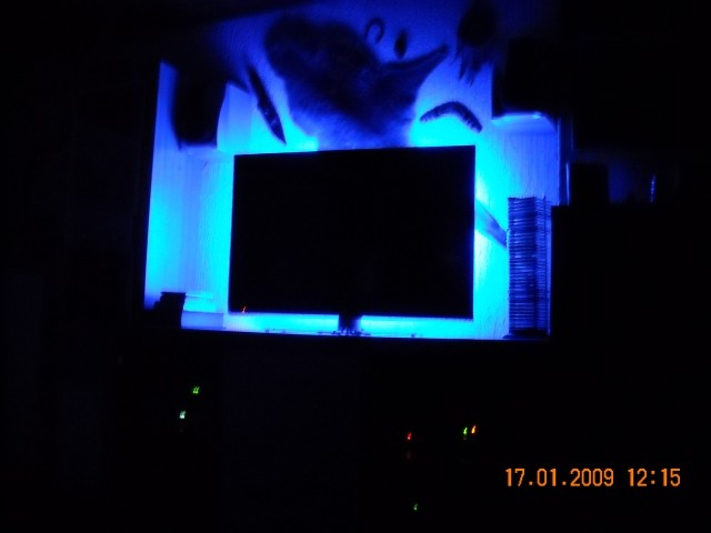 Osvetlitev za TVjem