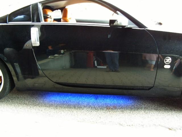 Osvetlitev pragov pri Nissan 350Z