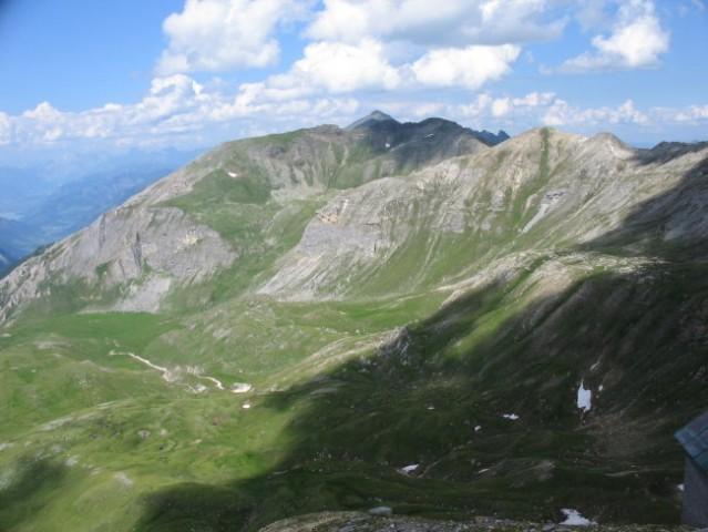 Razgled iz gore Edelweiss (2571m)