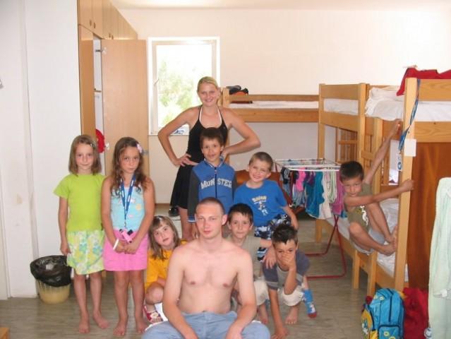 Punat 2006 - jaz s skupino Račke
