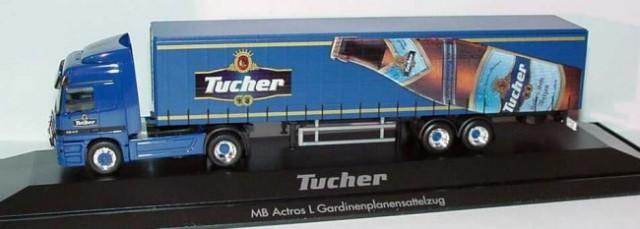 MERCEDES-BENZ ACTROS - Tucher 32€ (7680sit)