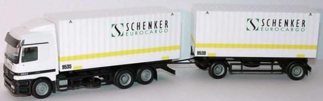 MERCEDES-BENZ ACTROS - SCHENKER 19€ (4560sit)