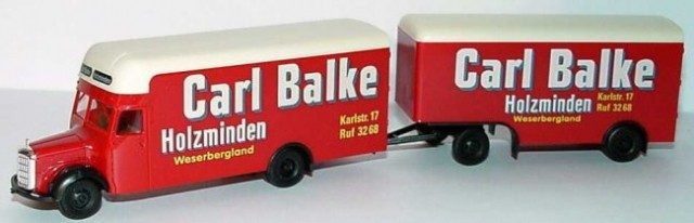 MERCEDES-BENZ - Carl Balke 15€ (3600sit)