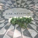 Strawberry Fields Memorial in Central Park, New York City
