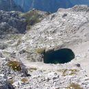 Zgornje (?) Kriško jezero in Pogačnikov dom