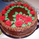 Tako pa zgleda na torti.