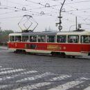 Praški tramvaj..moje najpogostejše prevozno sredstvo