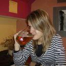 Cimra Laura in češko pivo :)