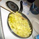 Krompirjeva omleta...preden je to postala :)