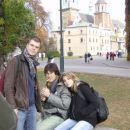 Grajsko dvorisce - Denis, Juan Carlos in Laura