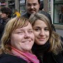Krakow - Laura in jaz ter Edu v ozadju :D