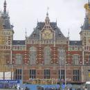 Zelezniska postaja v Amsterdamu