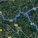 140 km, ni dosti je pa zelo zakljukano
