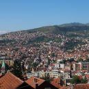 Sarajevo s stolpa Avaz