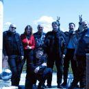 skupna fotka ob italijanski obali Ofsajd, Janetka, Dady,Tiger, Frenk , Žrebec in na kolen