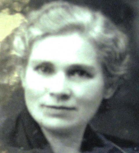 Antonija Grampovčan, žena Dr.Janka Grampovčana
