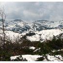 Pogled proti južnim Bohinjskim goram