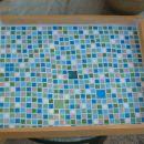 mozaik - pladenj