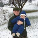 Na snegu z atijem..