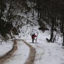 Kamniško sedlo - 8.februar 2007