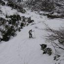 Kamniško sedlo - 10.februar 2007