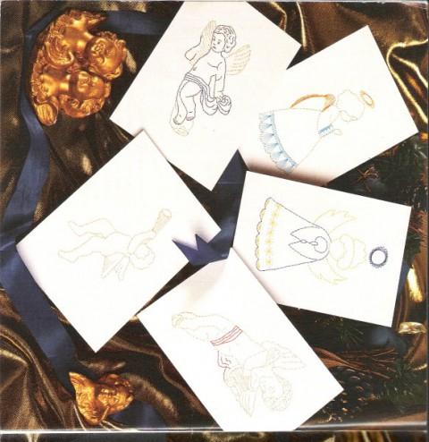 Vzorčki pickpoint - božični, novoletni - foto