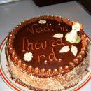 torta, ki jo je spekla  Pika za najin rojstni dan