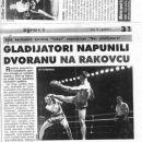 GLADIATOR CUP 2003,KARLOVAC