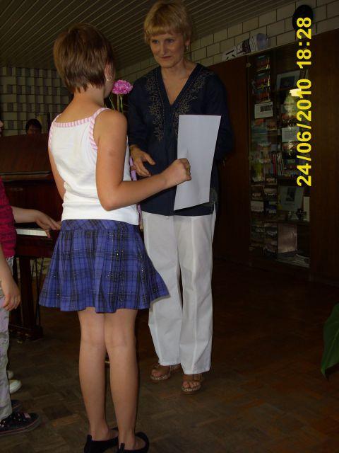Podelitev spričeval v glasbeni šoli Velenje - foto