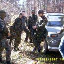 Voznik ni imel časa obleči vojaško opremo ko smo dobili klic za akcijo.