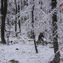 Snežna idila vendar zagrižen boj se nadaljuje, kljub mrazu!