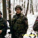 Na sredini MAX Poveljnik sil enot A.C.Kober in skupni poveljnik Ruskih pripadnikov.