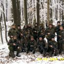 Pripadniki Kober Skupinska pred odhodom v boj.