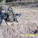 Breci (1.vod) Vstrajno držanje obrambne točke na Exs. Pointu.