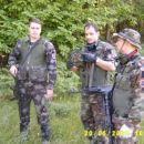 Pripadniki uporniške 3 sekcije 3.voda: Wallo, Shadow, hulk!