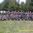 Gasilska:4 skor nas je že za en pravi vojaški vod. al pa 3 odelki! :)