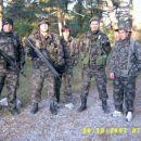Predstavniki 6-voda, ki so tvorili Ekipo-2. Z poveljnikom sil.