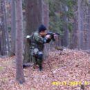 Kuki severno vietnamski vojak v akciji.