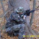 Marč sniper v akciji.