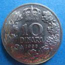 10 Dinara 1938 - front