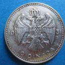 10 Dinara 1931 - front