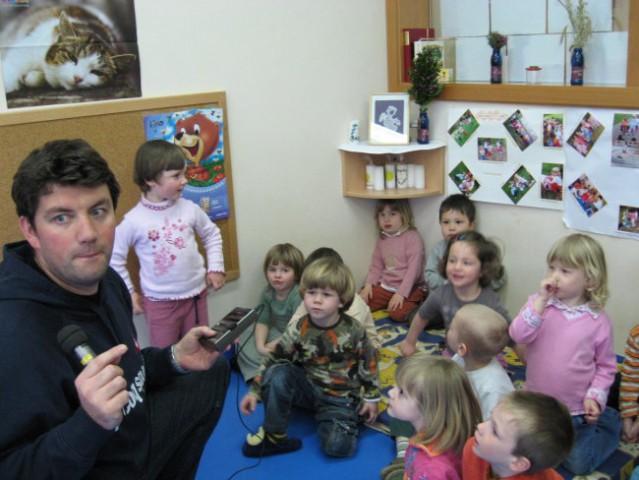 Jure Sešek na obisku (2. 4. 2008) - foto